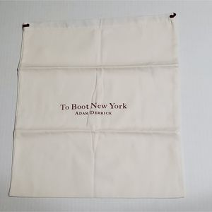 To Boot New York Adam Derrick Ivory with Red Logo